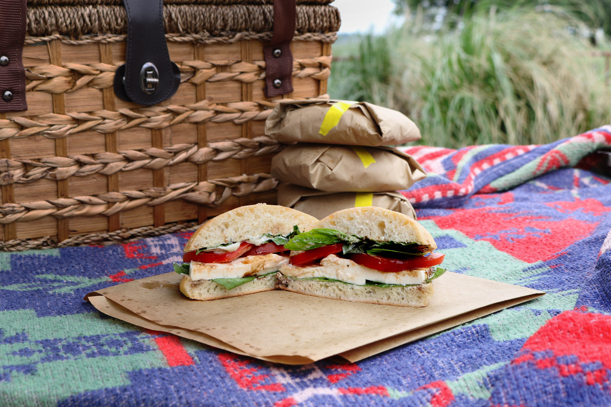 Caprese Sandwich recipe is perfect for picnics and lunch