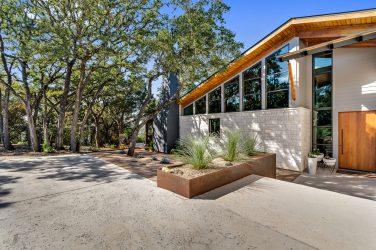 exterior The Floyd Residence near Austin, Texas