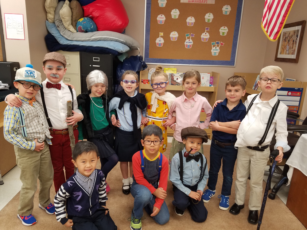 Frisco 100th day of school