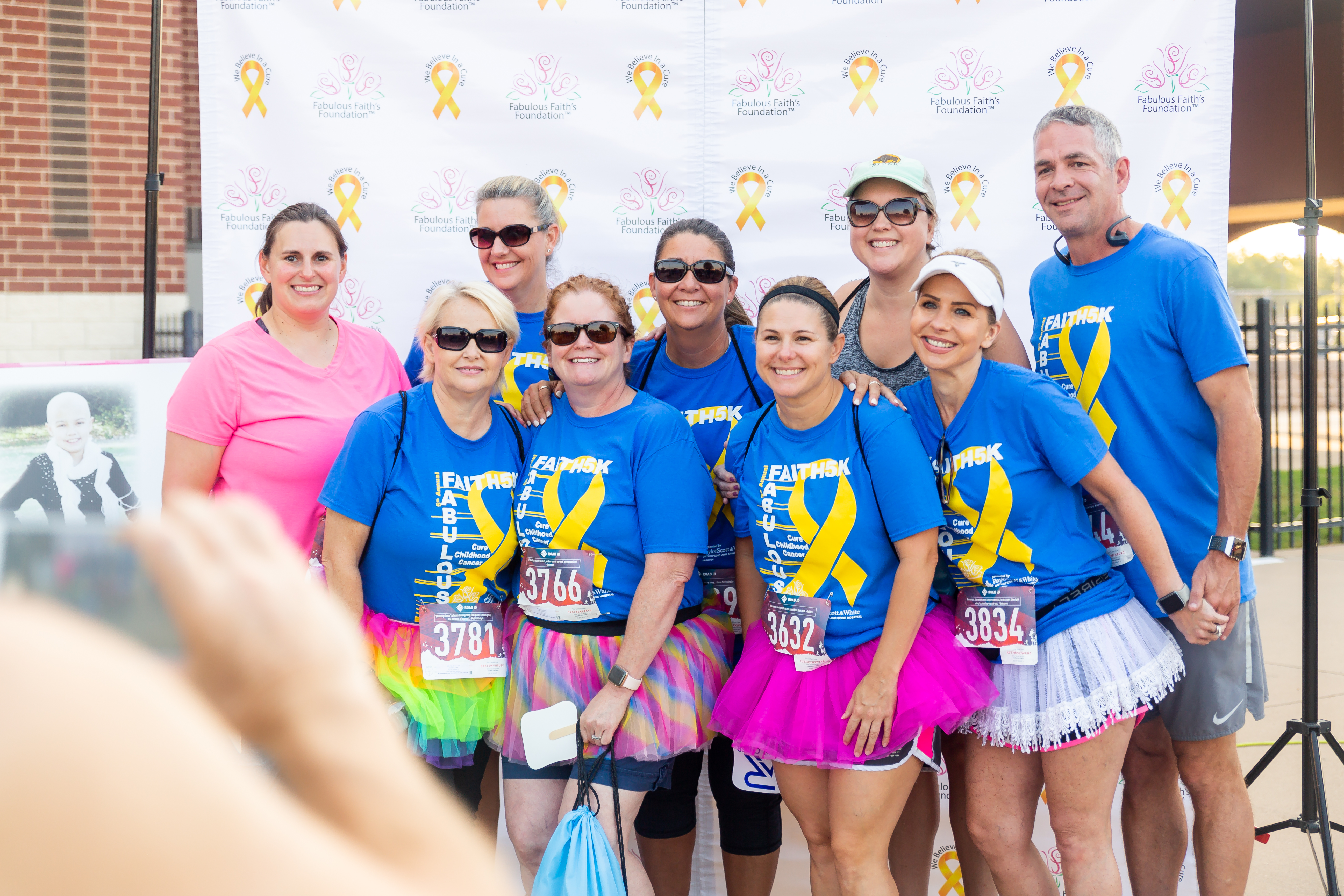 Fabulous Faith's Foundation is a local non-profit with the goal of funding cancer research in the hopes of ending pediatric cancer