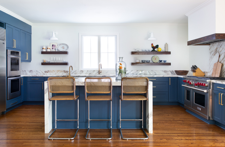 Kitchen design The Rice Boulevard House, in Houston