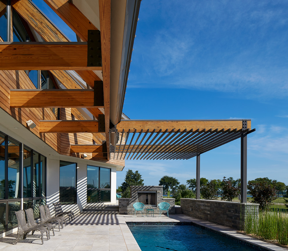 pool modern home tour living magazine waxahacie texas
