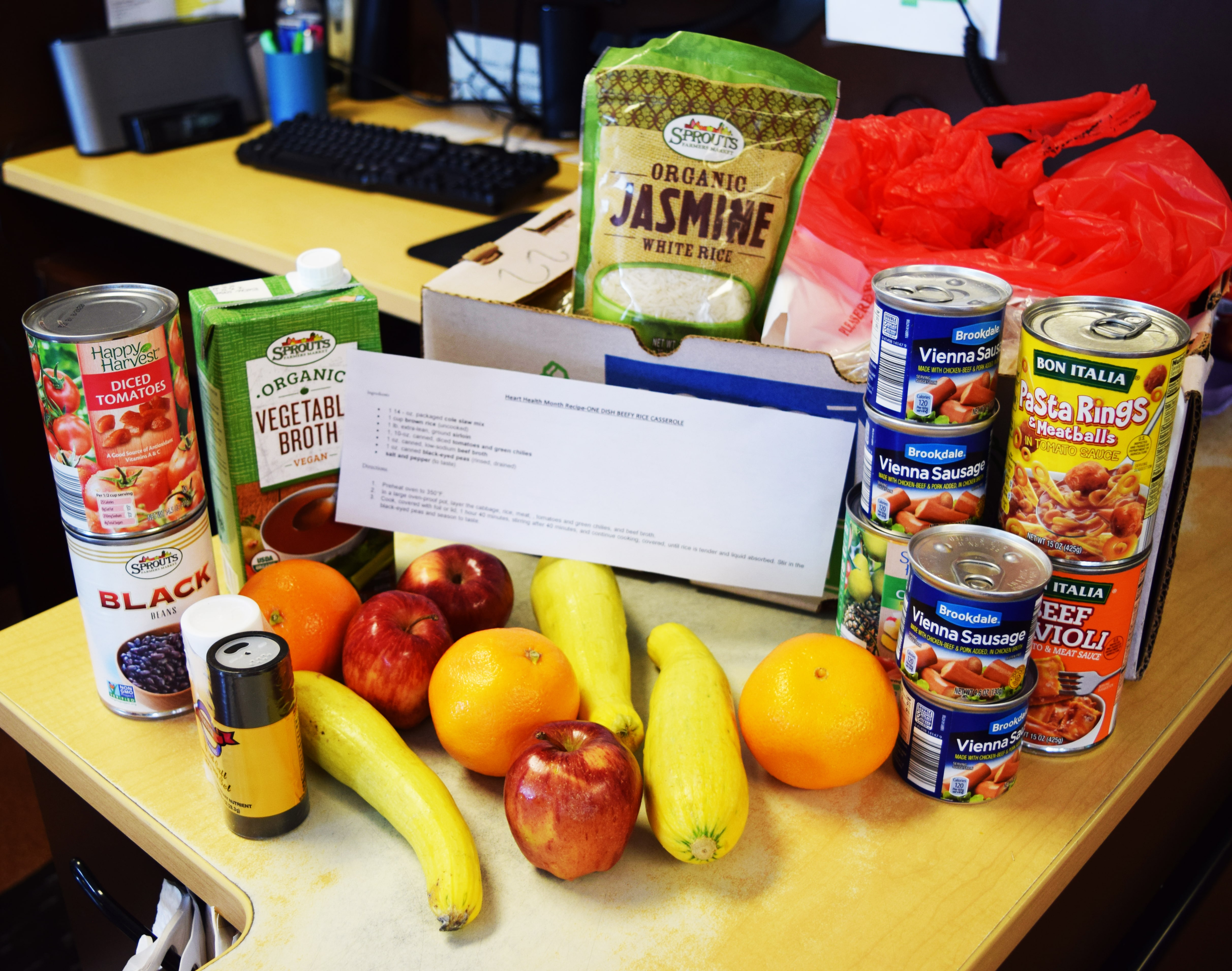 Frisco Family Services encouraging healthy food choices