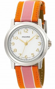 Pedre stripe ribbon watch at Artisan Gems Boutique