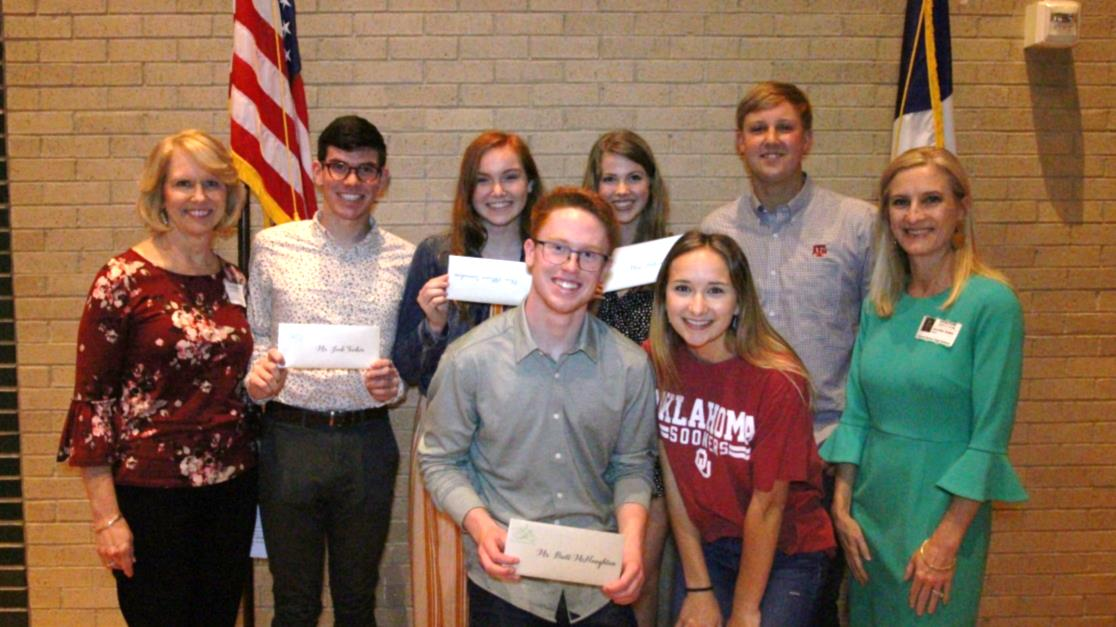 Six graduating seniors from Carroll ISD have entered the college of their choice a little bit better off thanks to scholarships from the Southlake Women's Club Foundation.