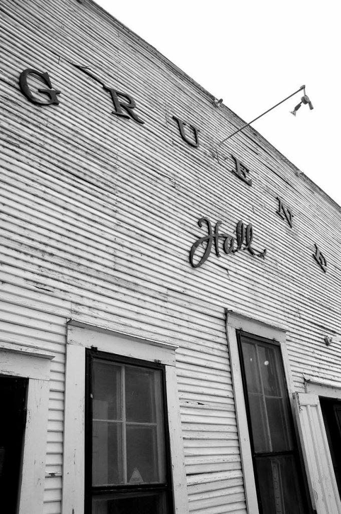 The famous Gruene Hall located in Gruene near New Braunsfield, Texas
