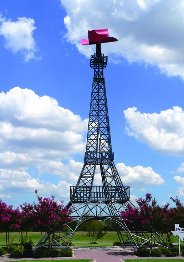 Eiffel Tower Replica in Paris, Texas