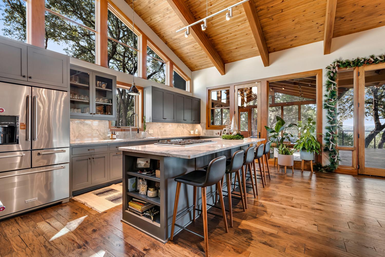 kitchen The Floyd Residence near Austin, Texas