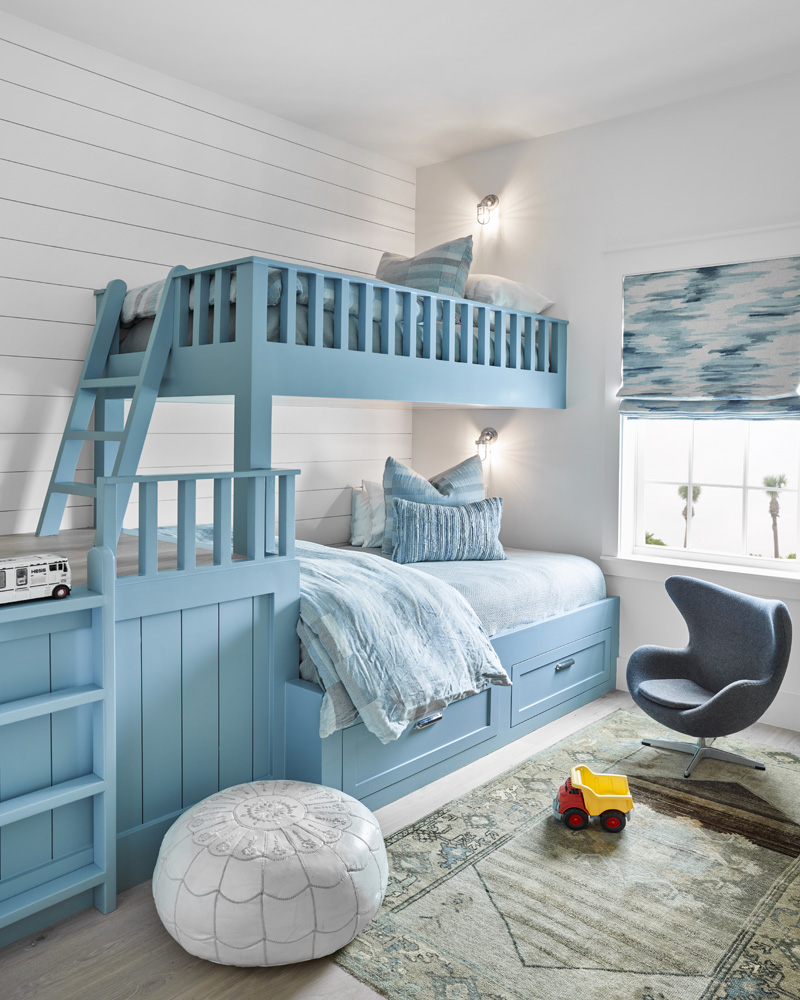 Galveston Beach House bedroom