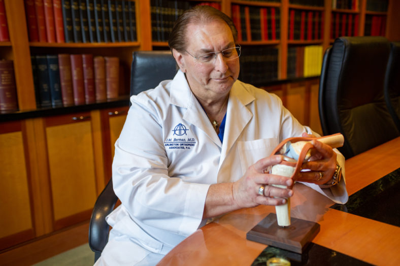AOA Orthopedic Specialists and the Joint Preservation Center Joseph M. Berman, MD