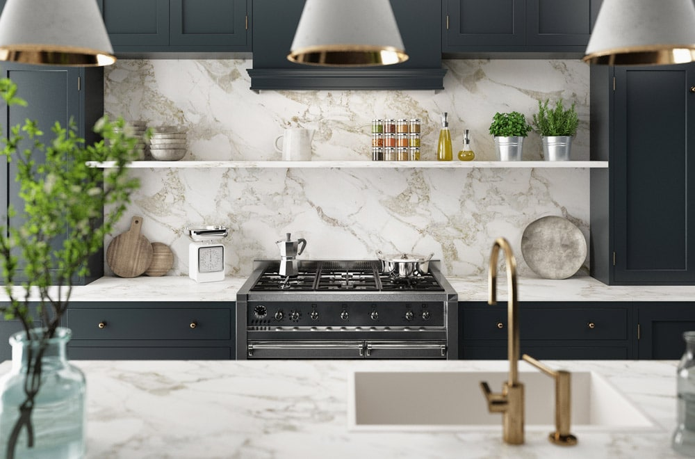 Granite and marble kitchen counters and backsplashes kitchen trends for 2019