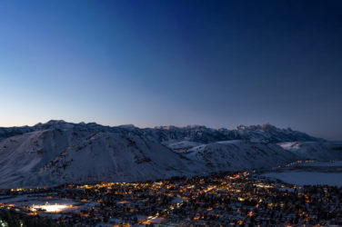 Christmas in Jackson Hole Wyoming