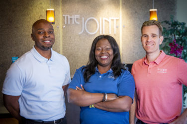 clinical director fatima bangura, dc and bradley pittman, dc and aaron gajeske, dc katy