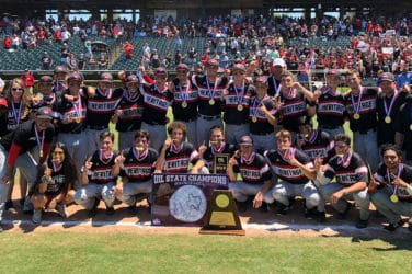 he Colleyville Heritage baseball team won its first UIL 5A State Championship