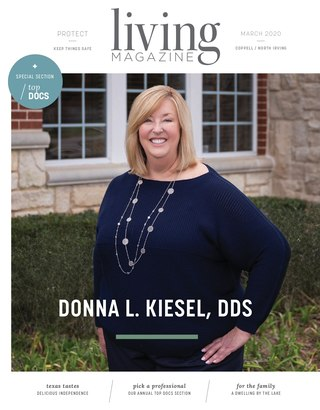 Coppell Las Colinas Living Magazine February Cover