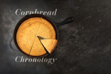 Texas cornbread chronology