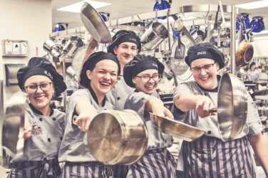 The Rockwall ISD Culinary Team