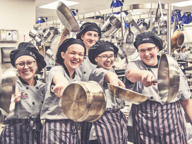 The Rockwall ISD Culinary Team
