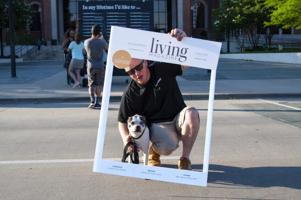 dog friendly events Living magazine at Sounds of Lewisville in Lewisville Texas Summer Concert Series