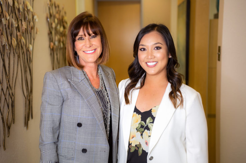 Sandi Hamm, DDS and Nicole Grant, DMD