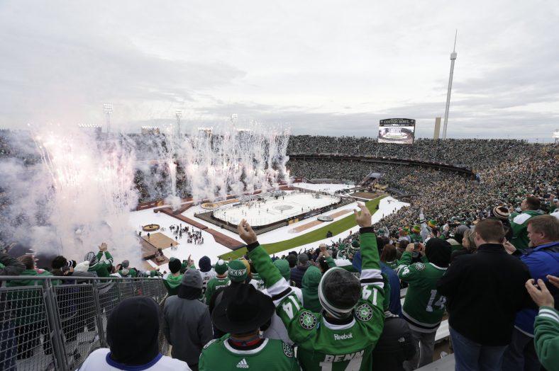 Dallas Hosts 2020 Winter Classic at Cotton Bowl Dallas Stars NHL