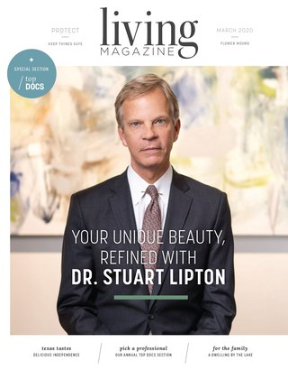 Flower Mound Living Magazine February Cover