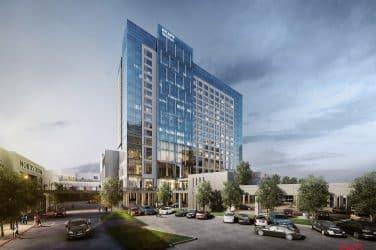 Hyatt Regency Stonebriar approaches 2020 completion