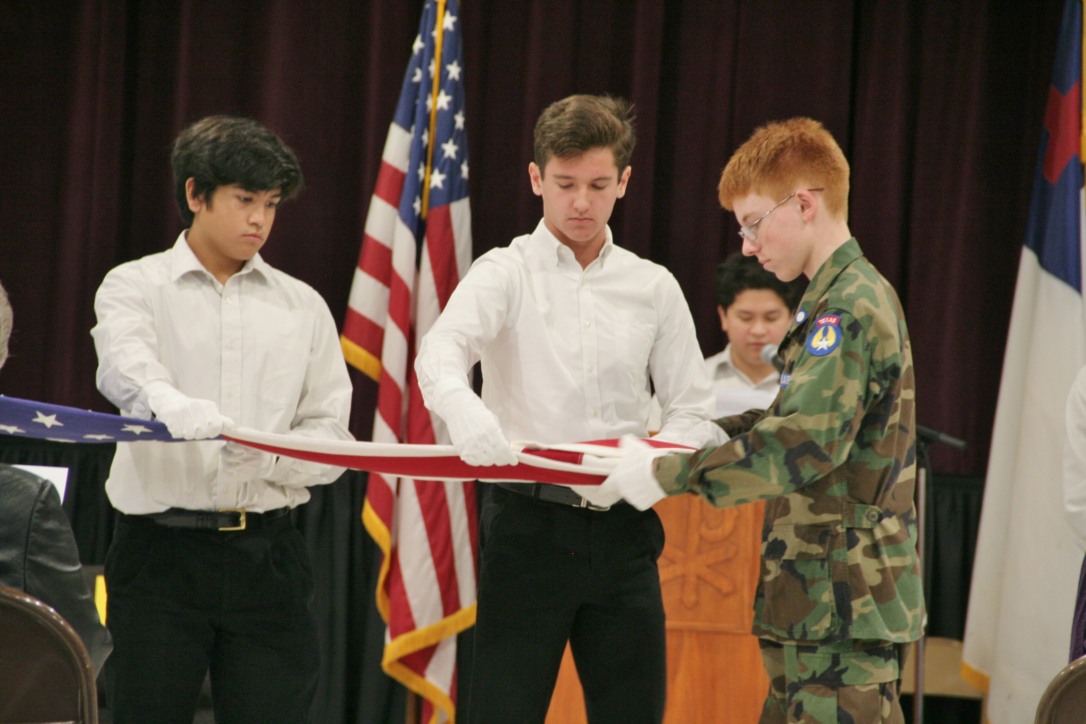 Plano Veterans Day assembly