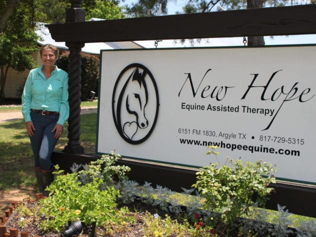 Local equine therapy center is helping build supportive connections