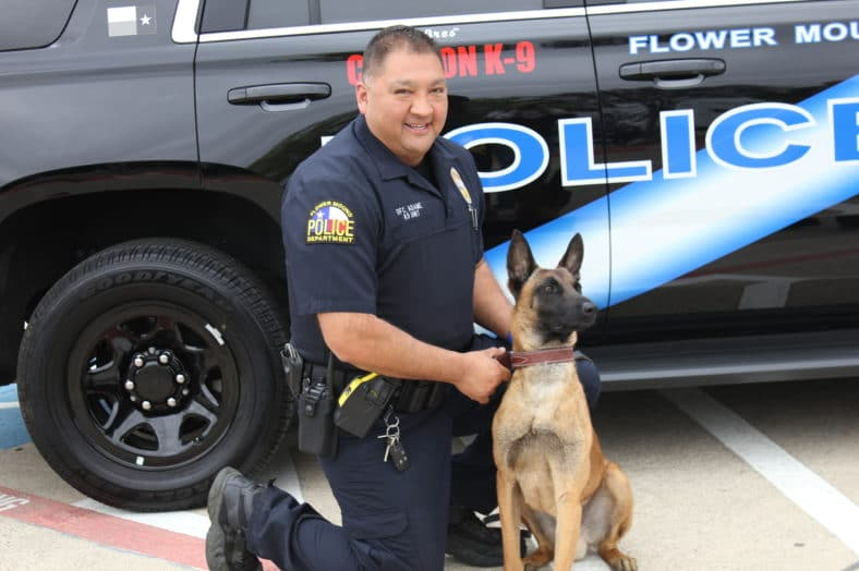 Flower Mound PD Welcomes Newest Officer