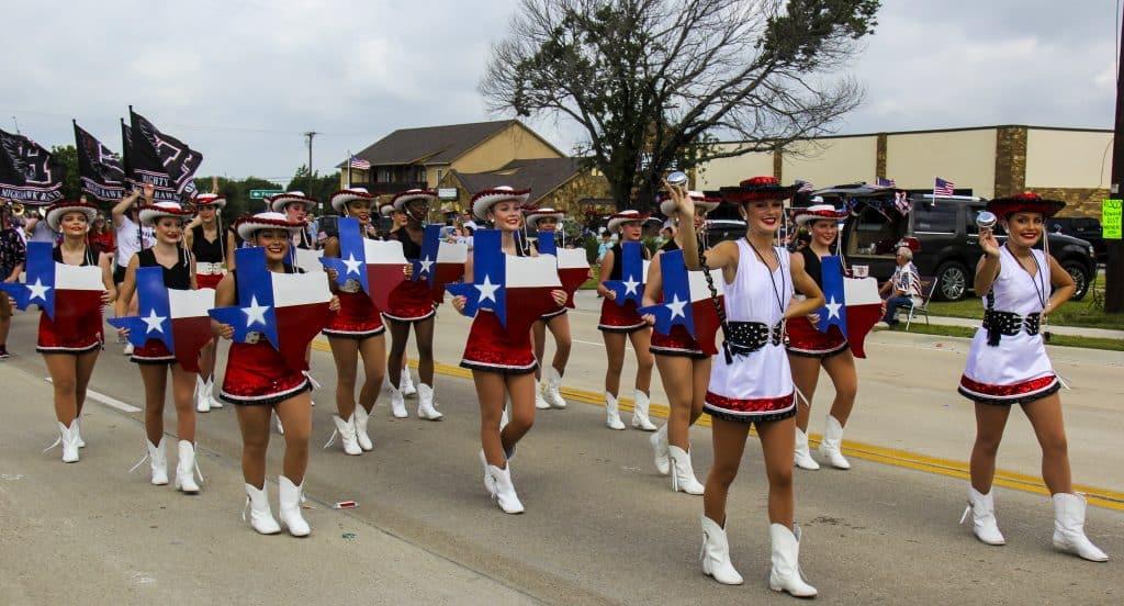 Heath 4th of july parade