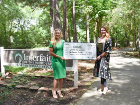 Golf Classic for Kids & Poker Experience, Waste Connections, Inc. donated $100,000 to Interfaith of the Woodlands.