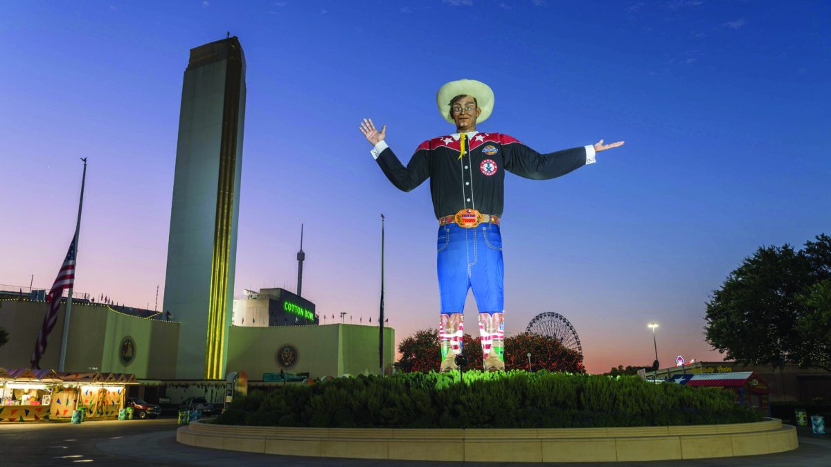Texas State Fair opening giveaway