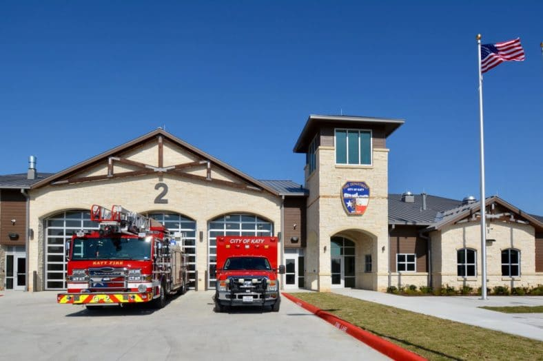 Katy Fire Department rescues child on weekend new Fire Station opens