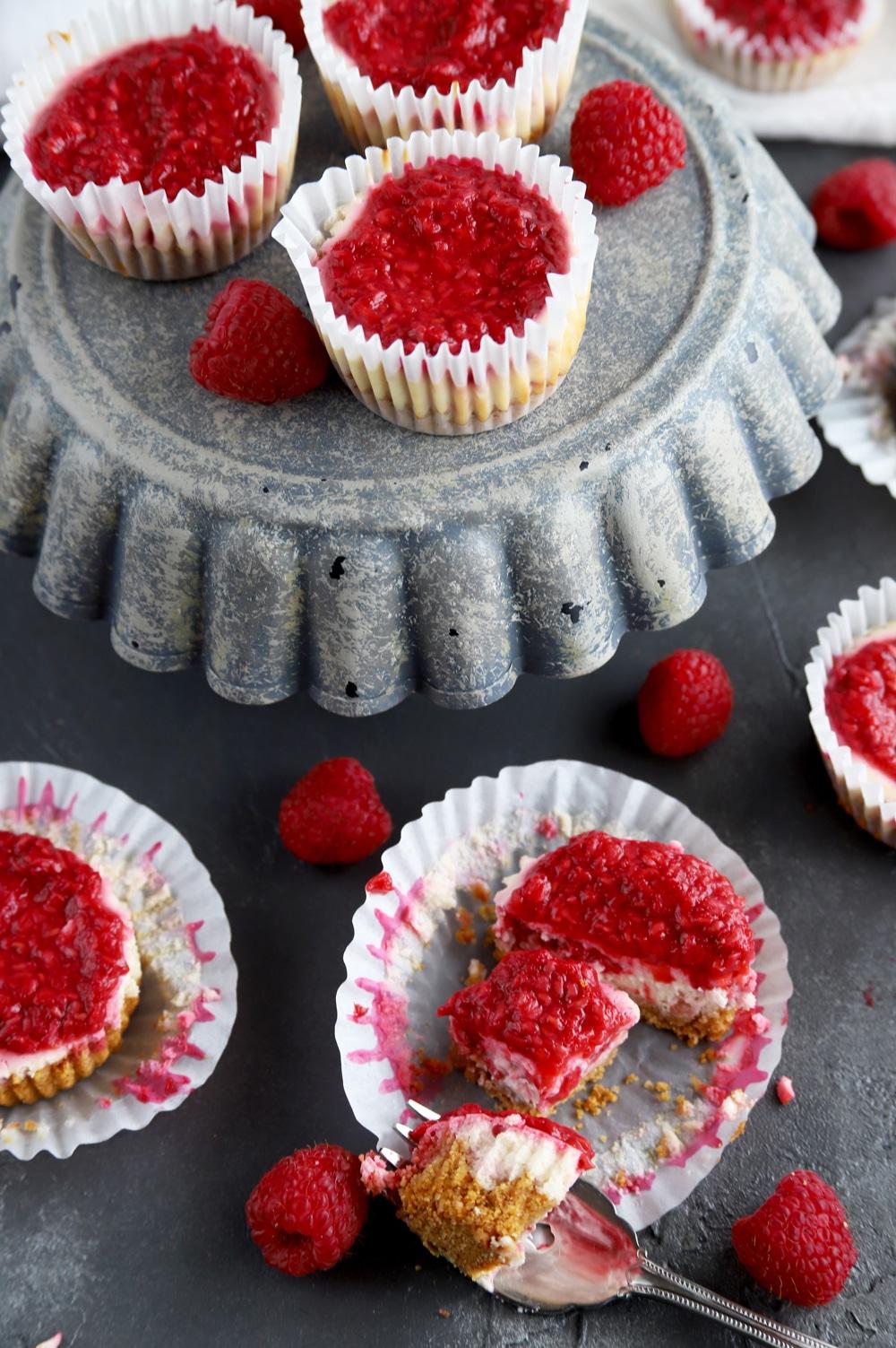 Lemon Raspberry Cheesecake Recipe