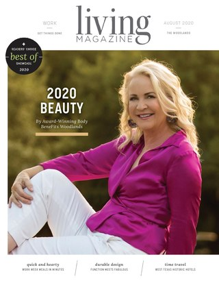 Living Magazine August 2020 The Woodlands