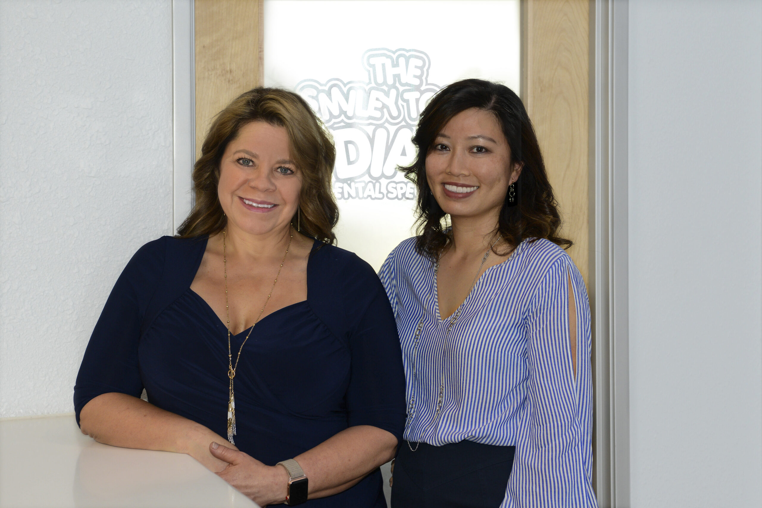 Jennifer Chou, DDS and Karen Hake, DMD The Smiley Tooth Pediatric Dental Specialists