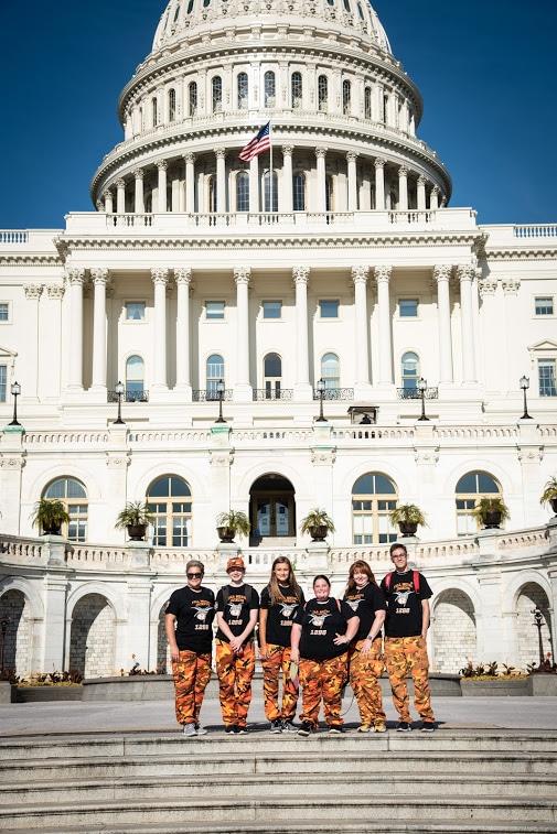 Rockwall Robotics visit DC