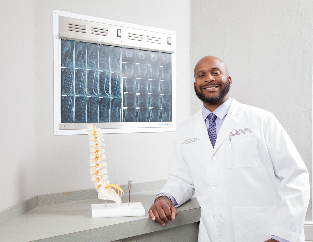 Omega Rehabilitation & Spine James L. Carlisle, MD