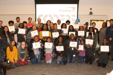 Capital One program sparks STEM interest for budding programmers