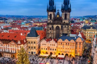 Christmas in the city of a Hundred Spires – Christmas in Prague