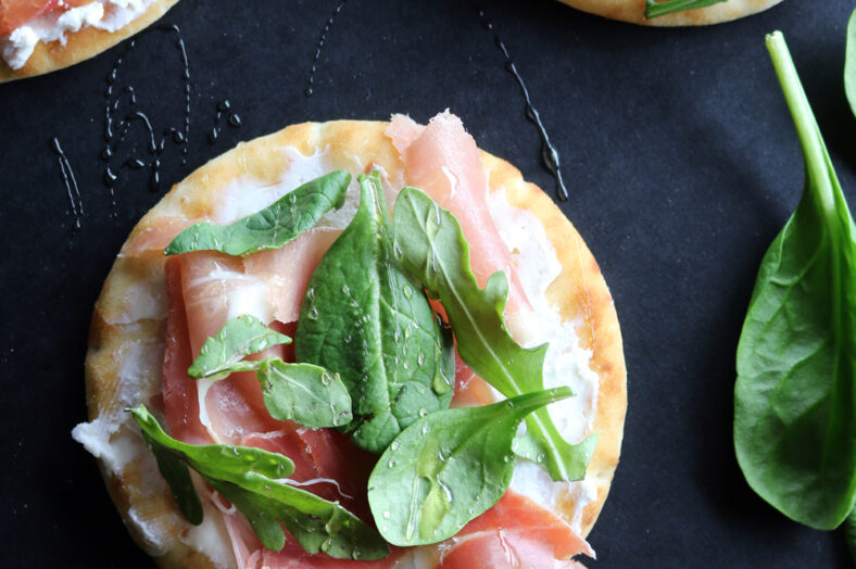 Prosciutto and Greens Skillet Flatbread Recipe