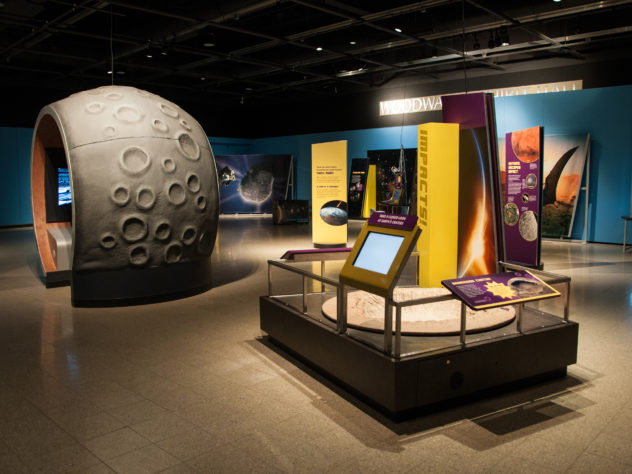 Great Balls of Fire space themed science exhibit extended through August