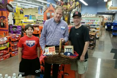 Kroger Nolan Ryan Giveaway Winner Rockwall Texas