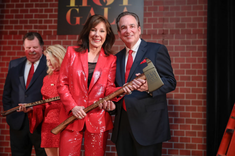 Houston Firefighters delight at Red Hot Gala