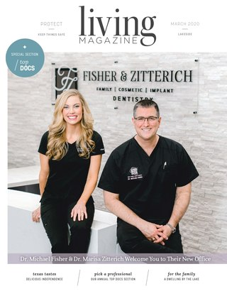 Rockwall Royse CityLiving Magazine February Cover