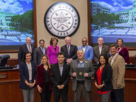 The Sugar Land City Council recently recognized Houston Marriott Sugar Land
