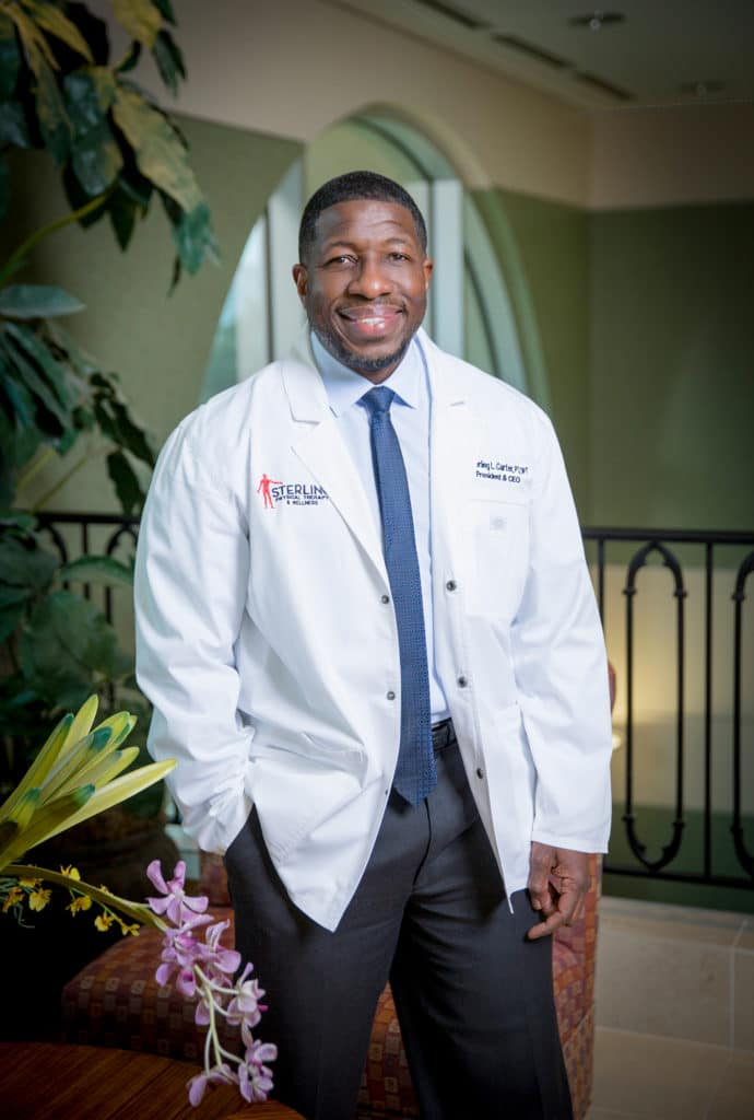 STERLING PHYSICAL THERAPY & WELLNESS DR. Sterling Carter