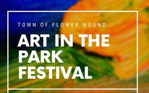 Art in the park Flower Mound