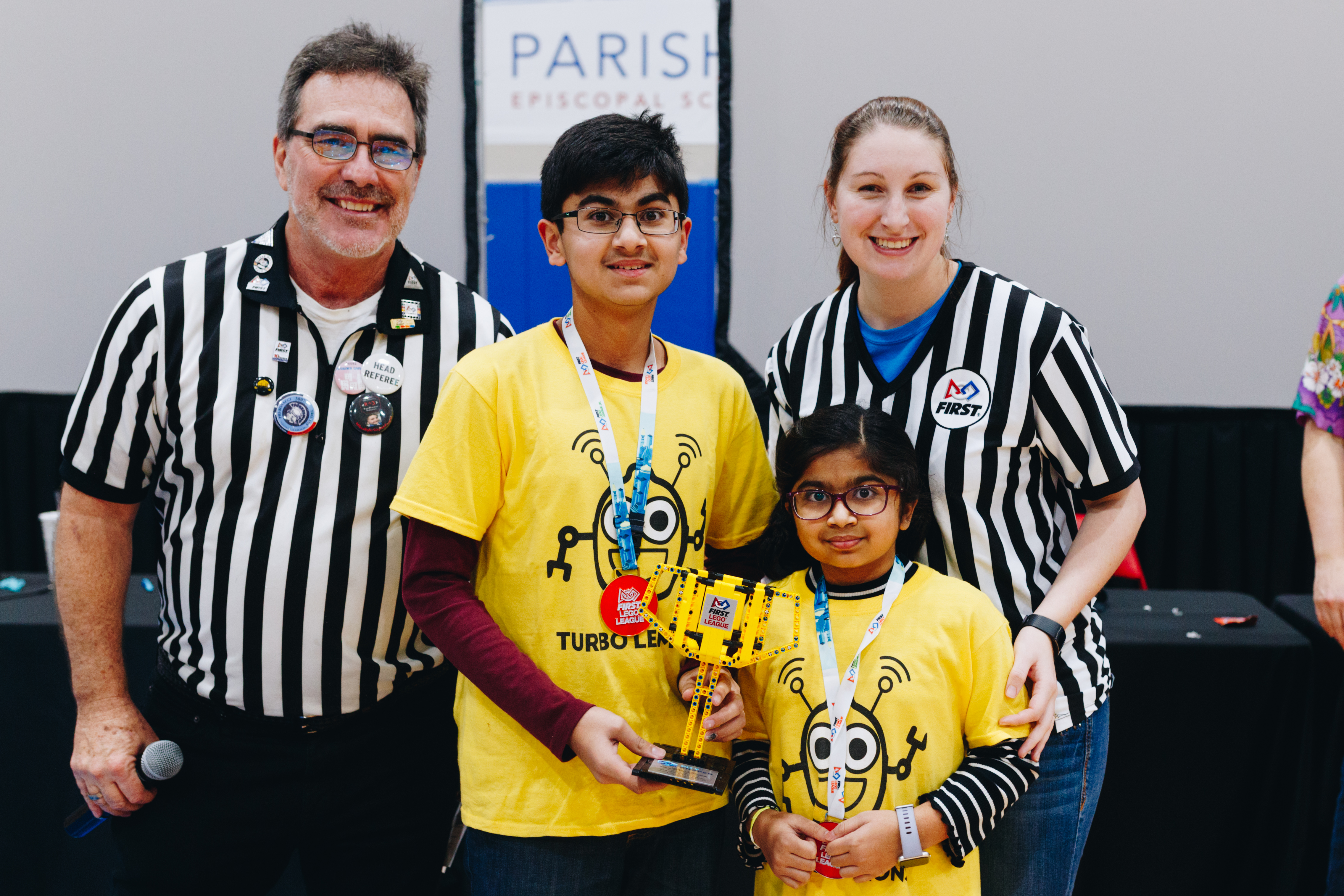 600 North Texas youth came ready to compete at the 12th-annual North Texas FIRST LEGO League (FLL) Regional Championship Robotics Tournament held at Parish Episcopal School and Community Center